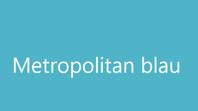 Metropolitan blau