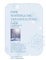 Faltblatt zu winterlichen Ereignissen