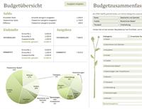 Haushaltsbudget (monatlich)