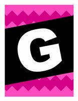 """Banner """"Glückwünsche"""" - grafische Muster"""