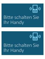 """Schild """"Kein Handy"""""""