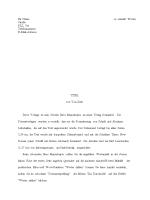 Manuskript für einen Artikel