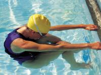 Entwurfsvorlage Schwimmen