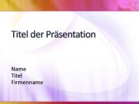 """Beispielpräsentationsfolien (Design """"Weiß, Gelb und Magenta"""")"""