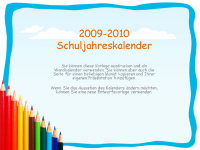 Akademischer Kalender 2009-2010 (Mo-So, Aug-Aug)