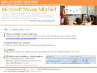 Mouse Mischief - Winkel