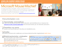 Mouse Mischief – Planeten unseres Sonnensystems