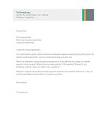 Επαγγελματική επιστολή