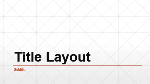Business diamond grid presentation (widescreen)