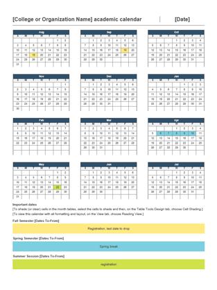 2014 2015 academic calendar office templates for Ms office calendar templates 2015