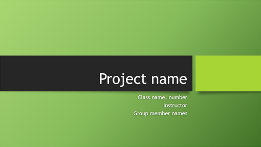 Group project presentation (Berlin themes, widescreen)