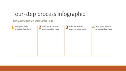 Process infographic (Retrospect theme, widescreen)