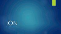 Ion Blue