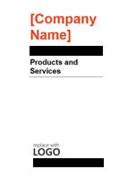 Brochure (Red and Black design)