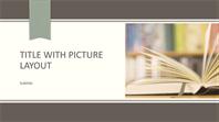 Academic presentation (widescreen)
