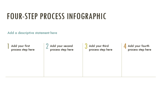 Process infographic (Integral theme, widescreen)