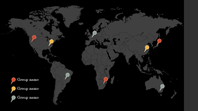 Map pins infographic (View theme, widescreen)