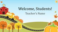 Back to elementary school presentation (widescreen)