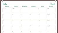 2014-2015 academic calendar (July-June)