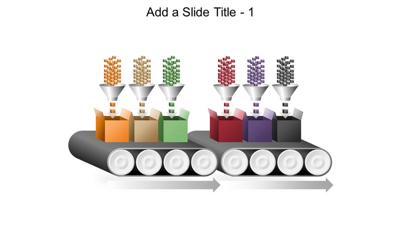 Conveyor belt multi-process graphic