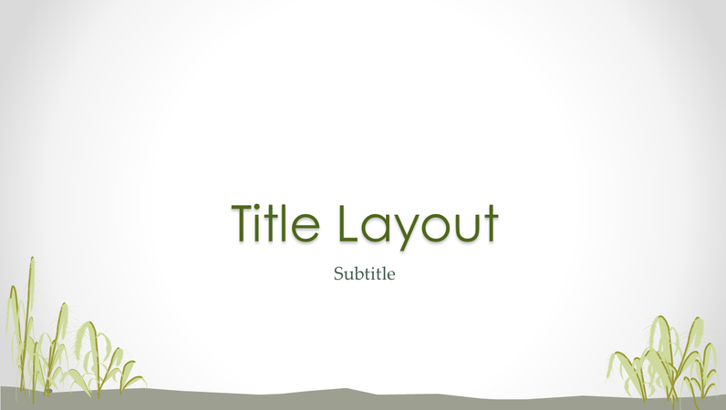 Seashore design slides