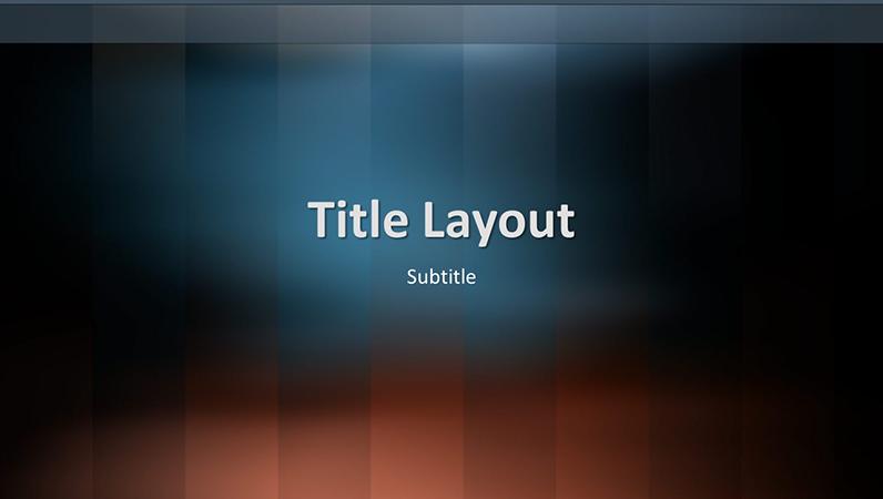 Vertical lexicon design slides