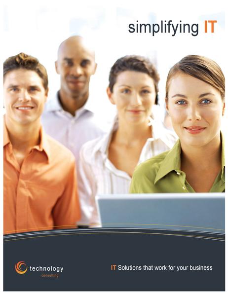 Technology business poster (vertical)
