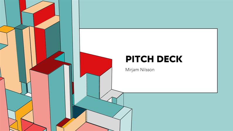 Architecture pitch deck