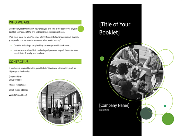 Tech booklet
