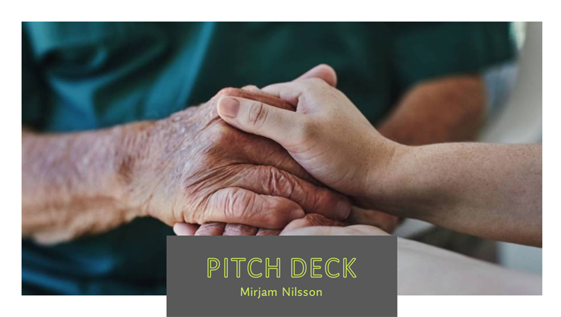 Healthcare pitch deck