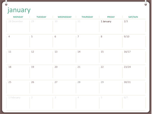 photograph about Weekly Schedule Template Printable known as Calendars -