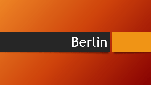 Featured powerpoint templates and themes berlin orange powerpoint toneelgroepblik Choice Image
