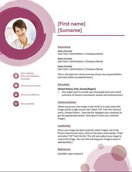 Rose suite CV