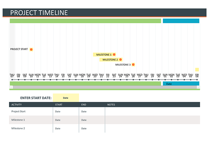 More Templates Like This. Project Timeline