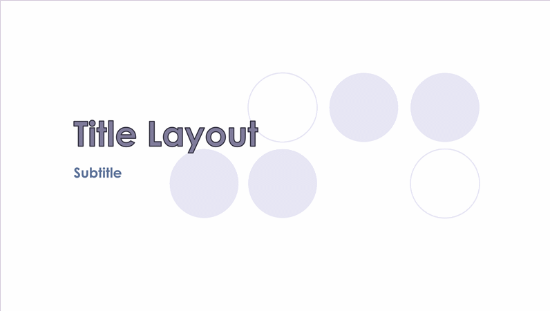 Watermark design slides