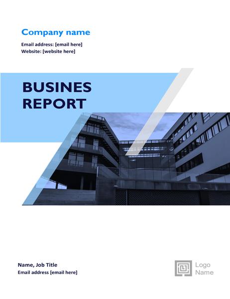 Business report (graphic design)