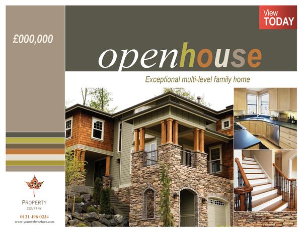 Property poster (horizontal)