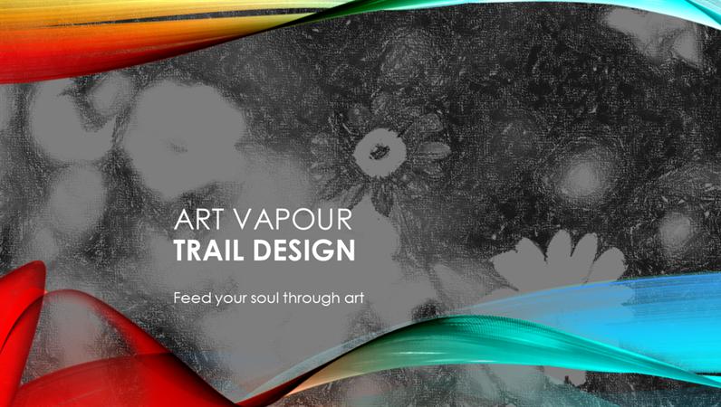 Art Vapour Trail design