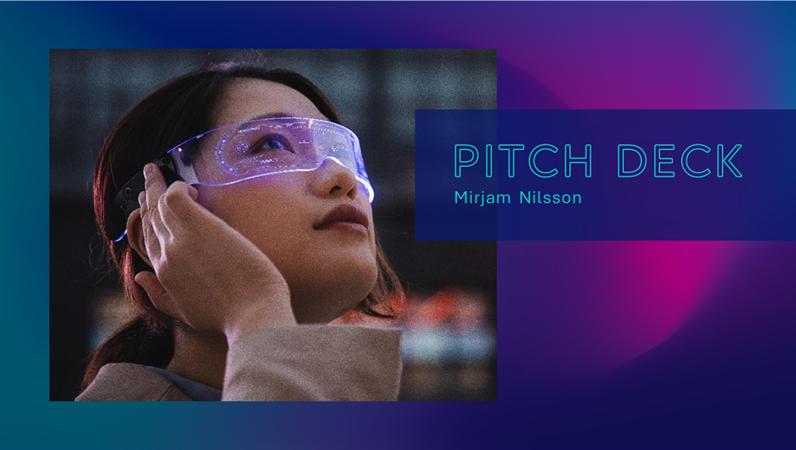 Tech pitch deck