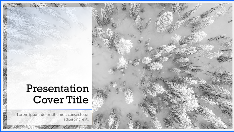 Snowscape presentation