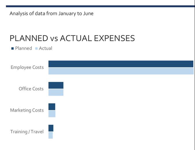 Business expenses budget