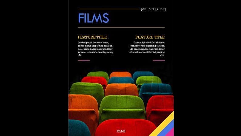 Film magazine covers