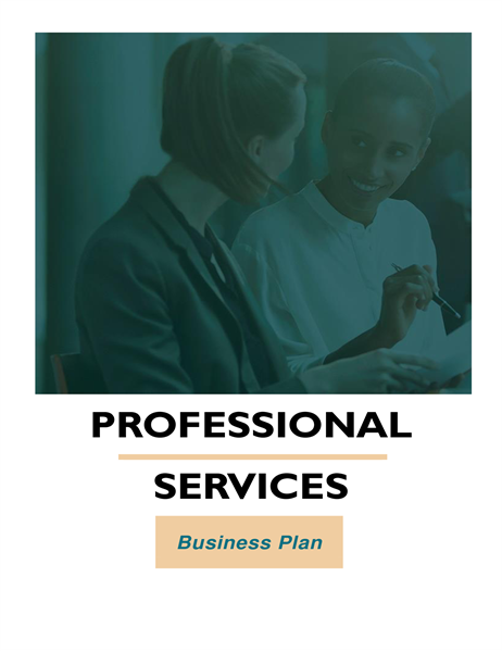 Professional services business plan