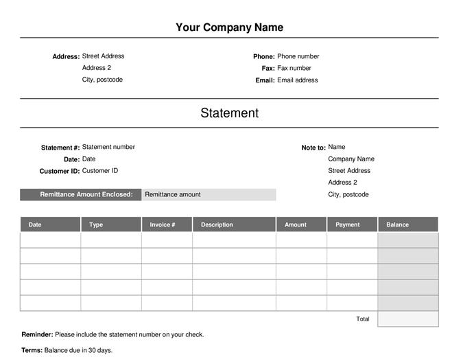 Invoice (simple)