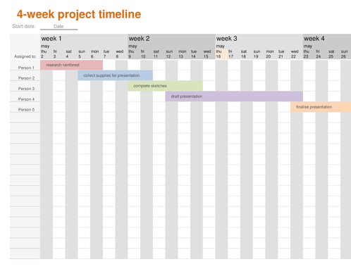 timelines - office, Powerpoint templates