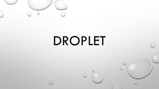 Droplet Purple