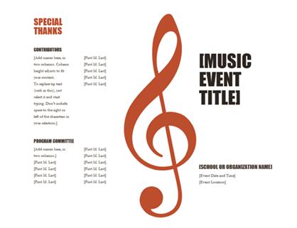 Music program