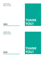 Small business note cards