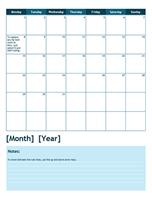 2014 academic calendar (Monday start)