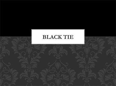 Black tie templates themes black tie toneelgroepblik Images